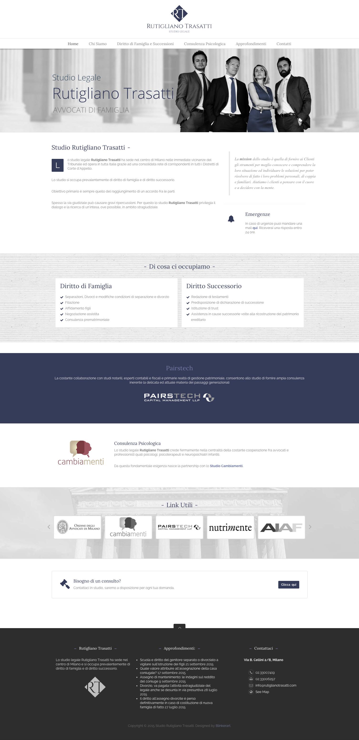 Logo immagine coordinata e sito web per rutigliano trasatti for Logo sito web